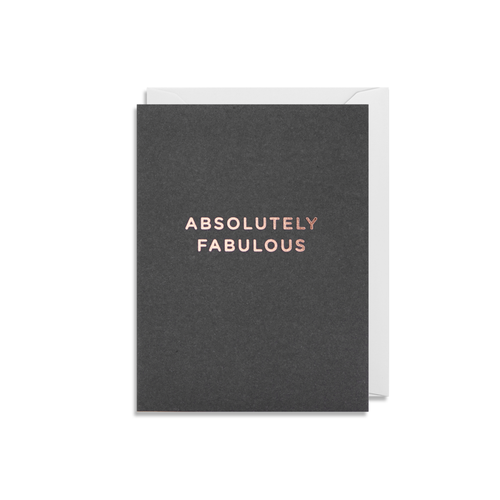 Ab Fab Mini Card from Lagom