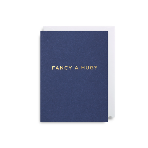 Fancy A Hug? Mini Card from Lagom