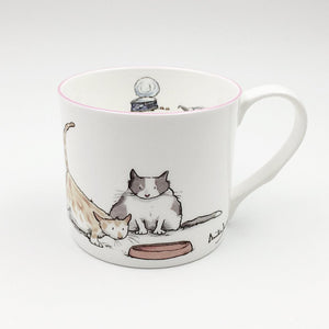 Fat Cats 300ml Mug from Two Bad Mice