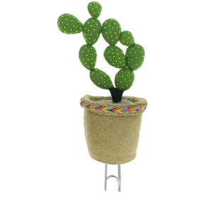 Cactus Decorative Felt Coat Hook from SC-Brands