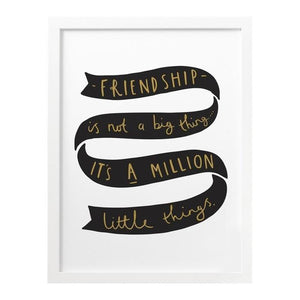 Best Friends Print by Old English Co from Old English Co