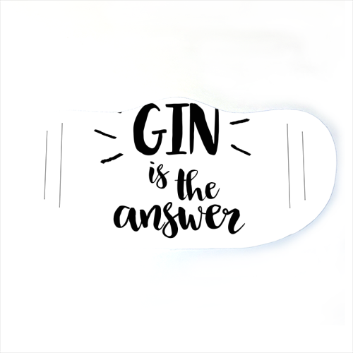 Face Mask - Gin is the Answer