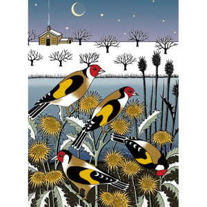 Goldfinch Garden Christmas Cards 8 Pack