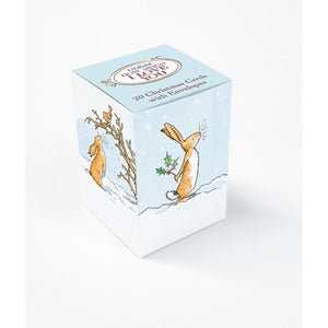 Guess How Much I Love You 20 Mini Christmas Cards Box