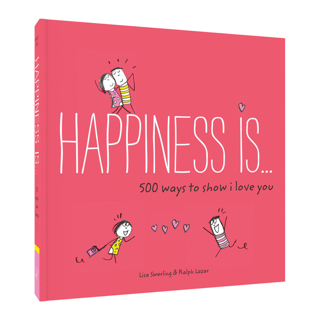 Happiness Is...500 Ways To Show Love from Abrams & Chronicle