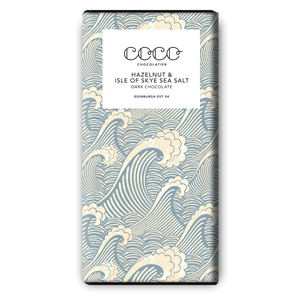 Hazlenut & Sea Salt Dark Chocolate from Coco