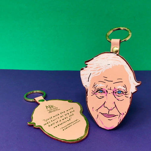 David Attenborough Key Fob