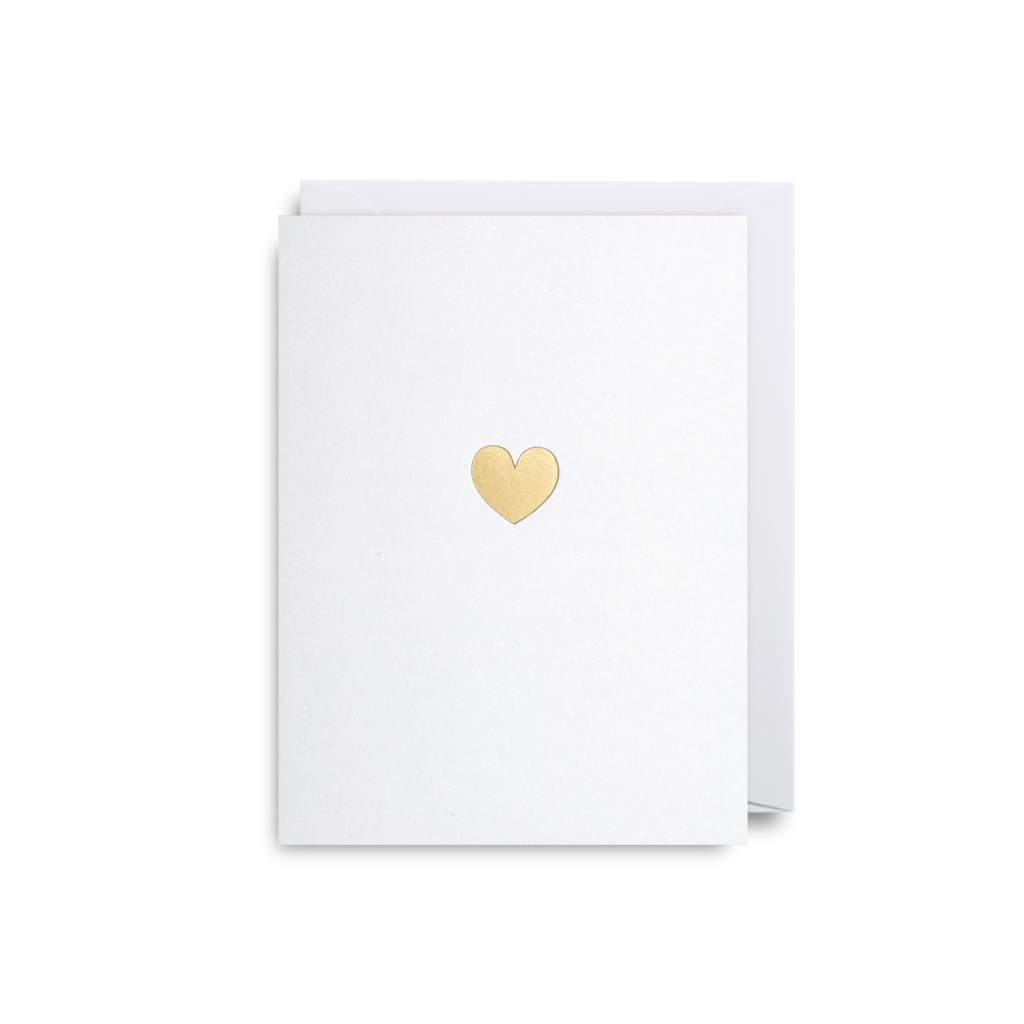 Heart  Mini Card from Lagom