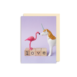 Dietske Klepper Unicorn Mini Card from Lagom