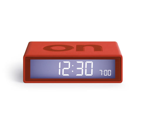 Flip Clock Red from Stone Marketing
