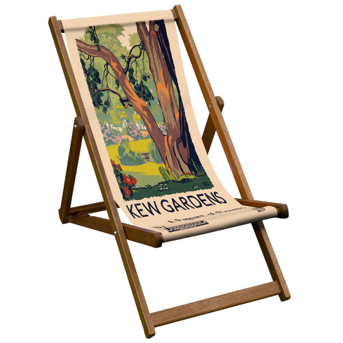 A Pageant Of Flowers Deckchair from welovecushions