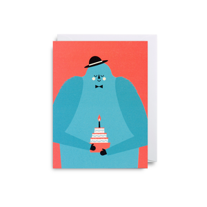 Dawid Ryski Monster Birthday Mini Card from Lagom