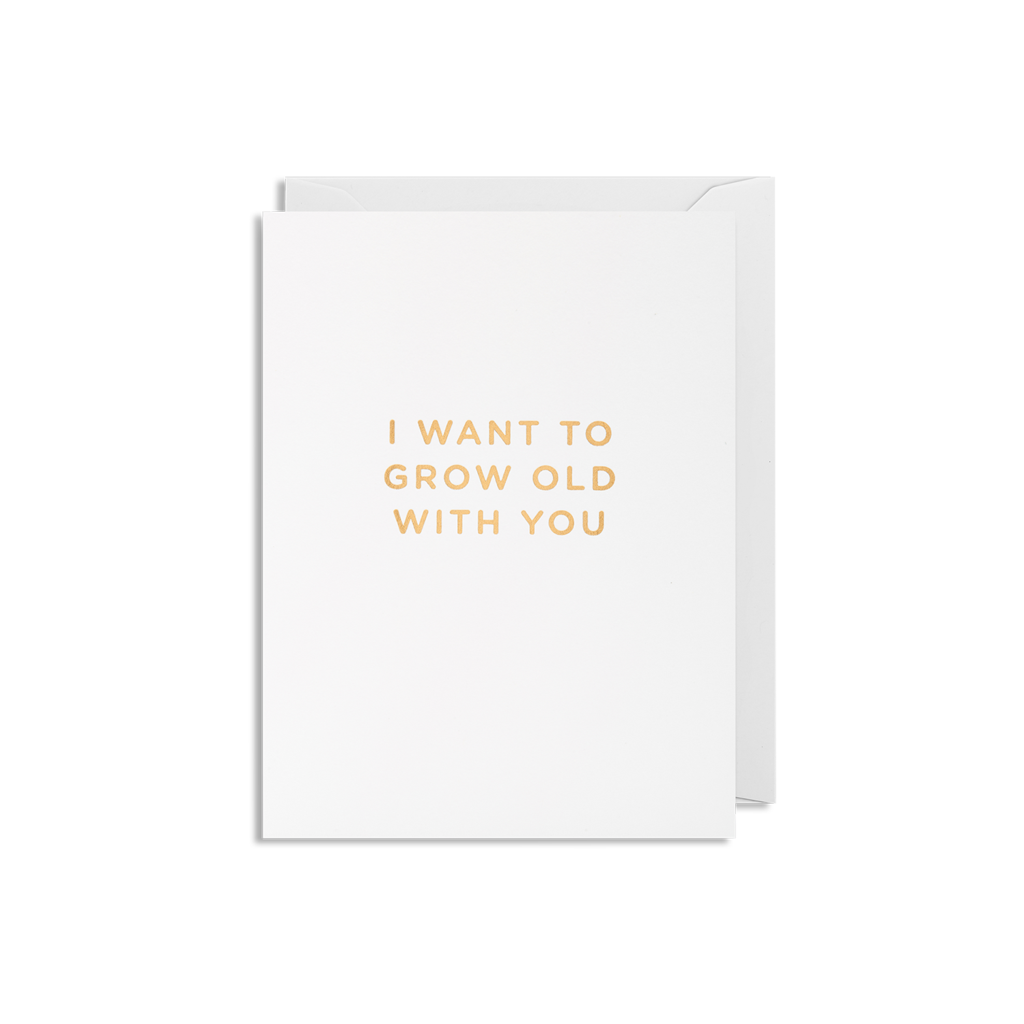 Grow Old  Mini Card from Lagom