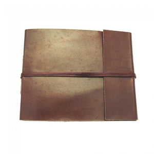 Fair Trade Leather Album from Paper High