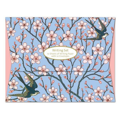 Almond Blossom Writing Set from Museums & Galleries