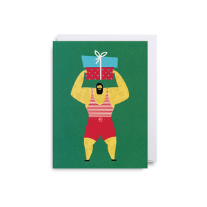 Dawid Ryski Strong Man Mini Card from Lagom