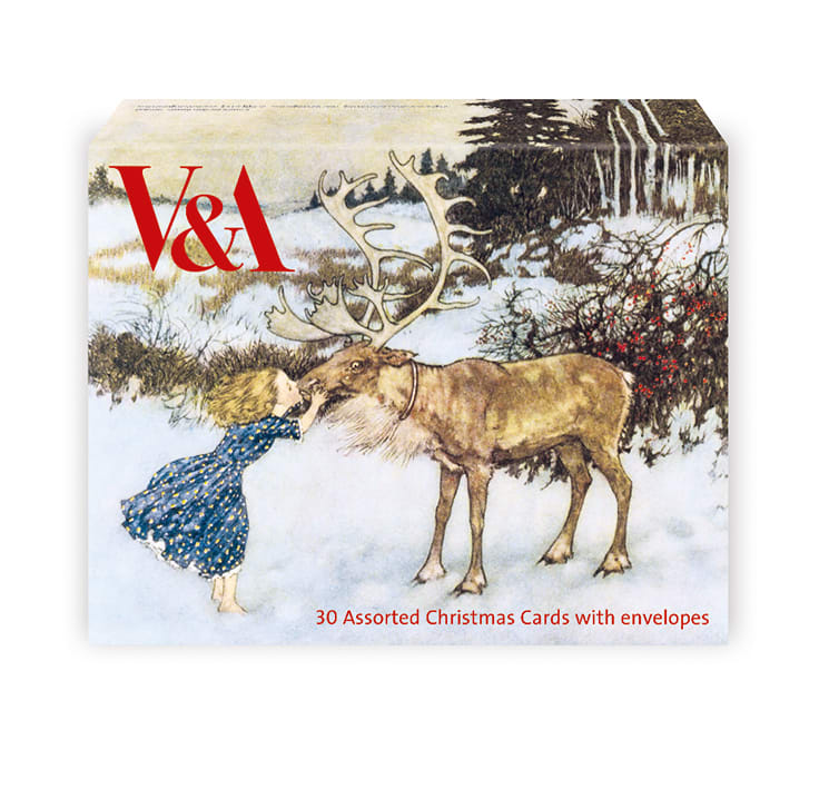 30 V&A Assorted Charity Christmas Cards