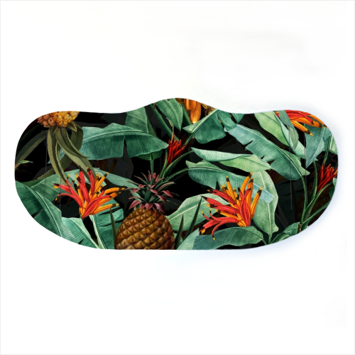 Face Mask - Vintage Tropical Night Jungle
