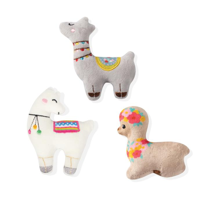 Llama Love Small Dog Toy Set