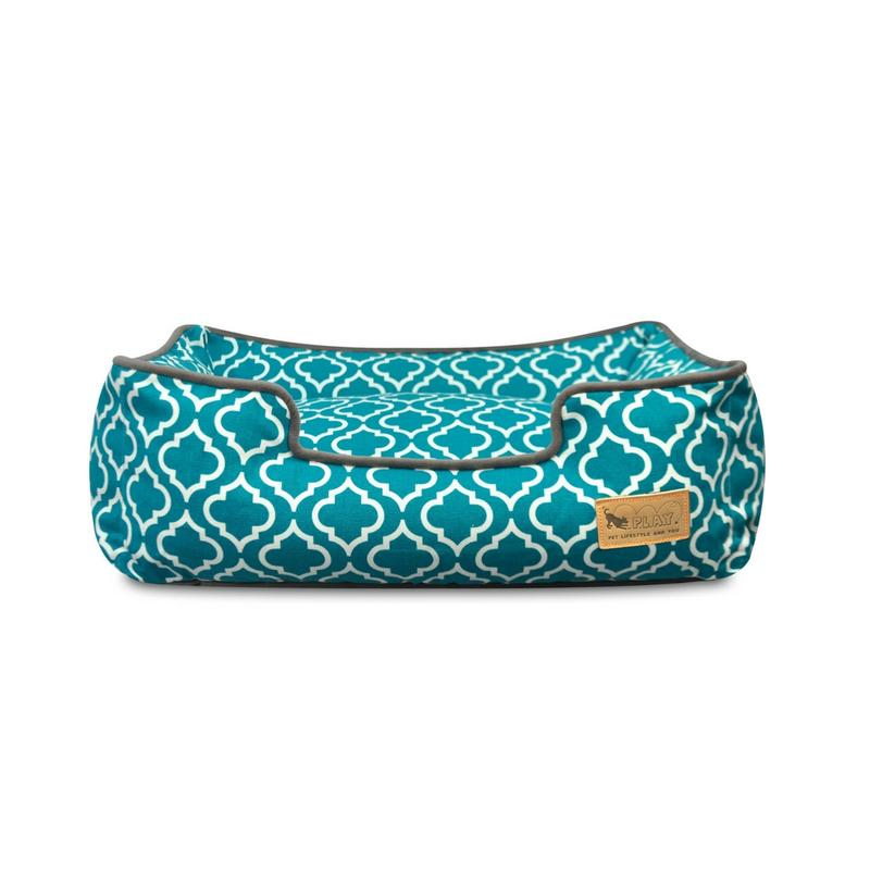 Moroccan Lounge Bed - Teal - Pooch Luxury