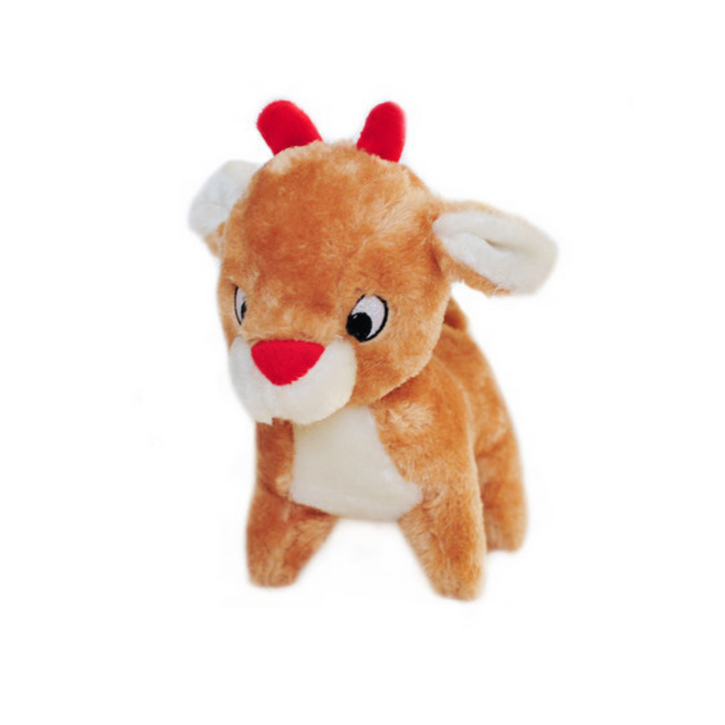 Christmas Deluxe Dog Toy - Reindeer - Pooch Luxury