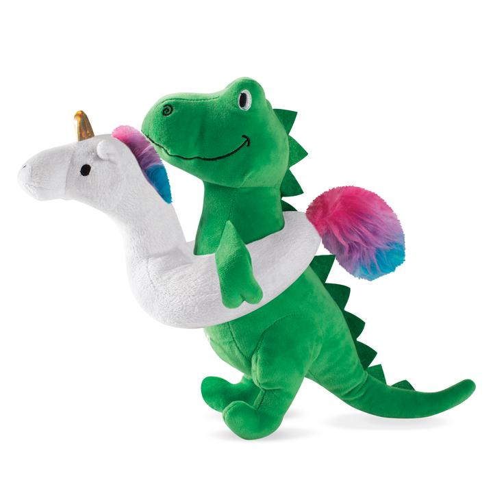 Summa Time Rex Plush Dog Toy