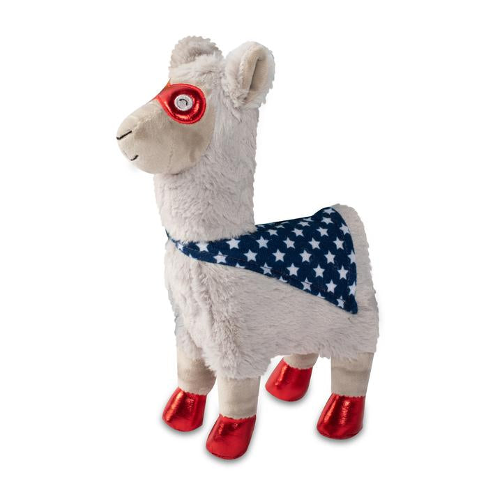 Super Llama To The Rescue Plush Dog Toy