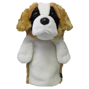 St Bernard Dog Driver Head Cover - golfcovers
