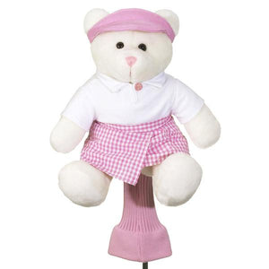 Tessa the Teddy Bear Driver Head Cover - golfcovers