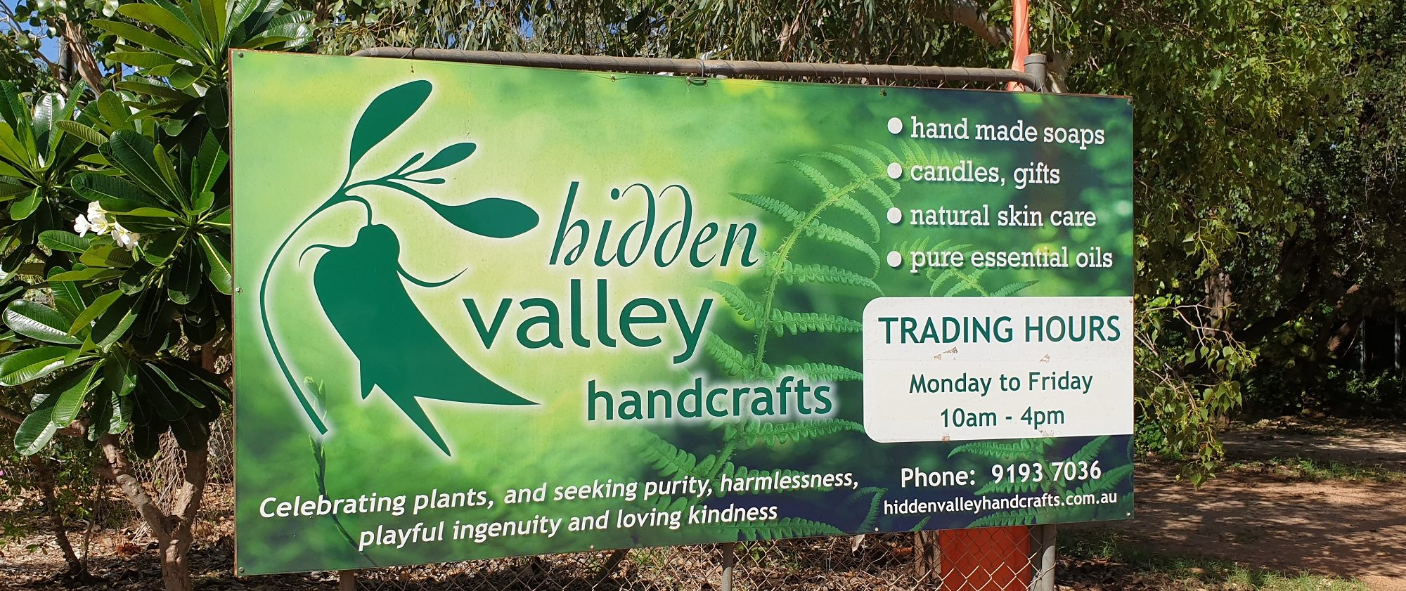 Hidden Valley Broome Showroom