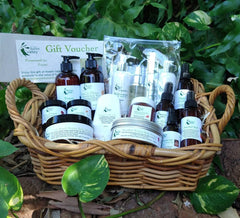 Basket of Hidden Valley Broome products