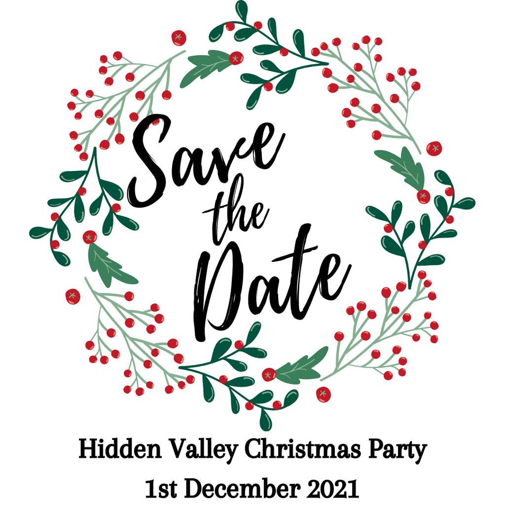Save the date Christmas party 1st December