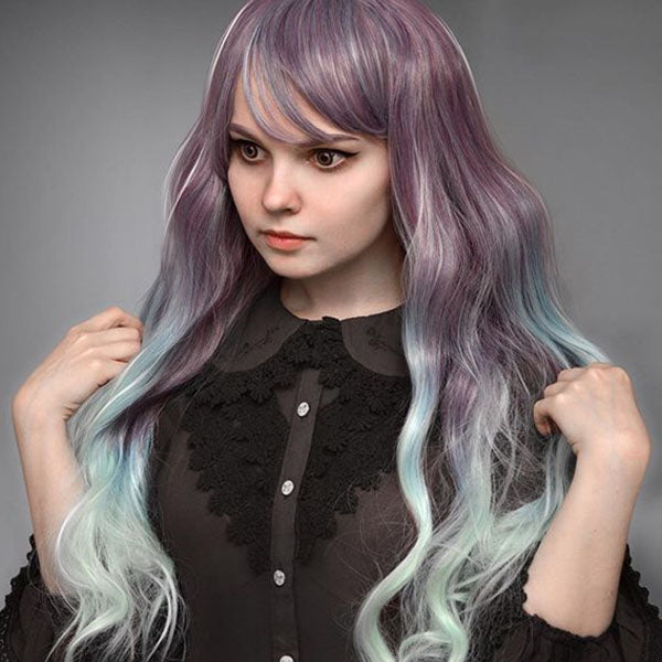 Mixed color fairy wig PL10232