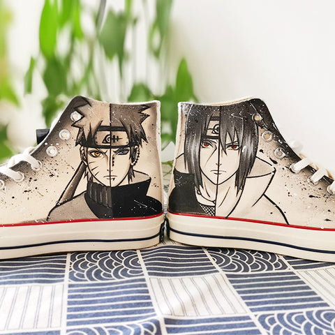 Naruto hand-painted shoes PL21174