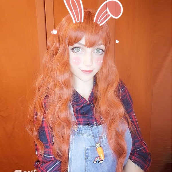 "Pastelloves ""Aiden"" orange wig PL20950"