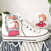 Ponyo on the Cliff hand-painted shoes PL21164