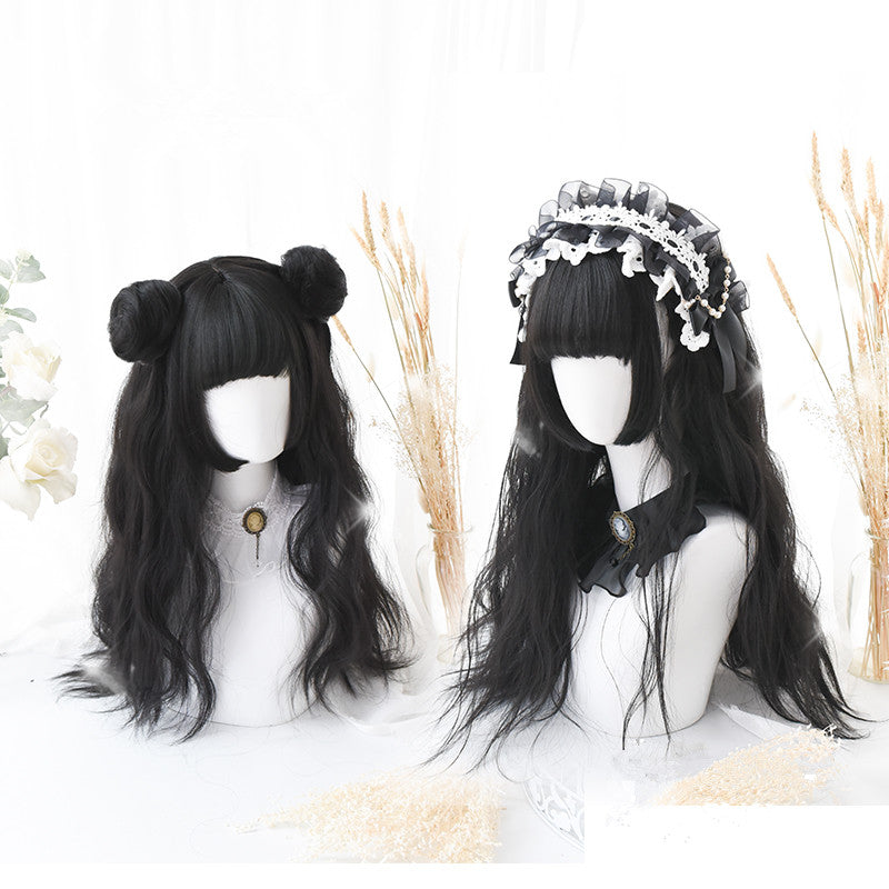 Lolita Hime cut wig + hair bag PL20297