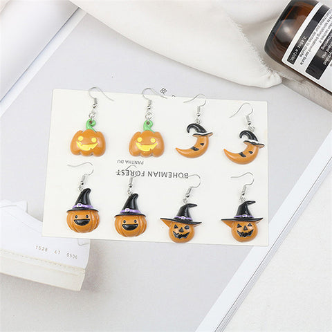 Halloween Acrylic Earrings PL40003