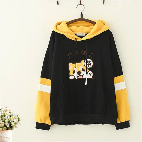 Puppy embroidered sweater PL21237