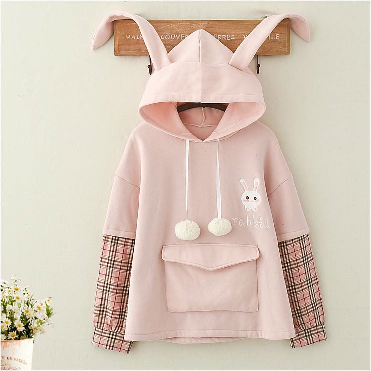 Rabbit hat sweater  PL21252