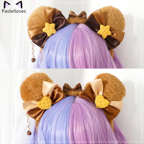 Pastelloves Bear Ear Headband PL21156