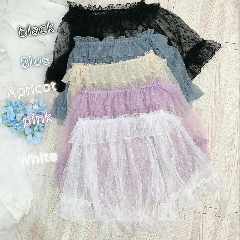 Lolita lace top PL50445
