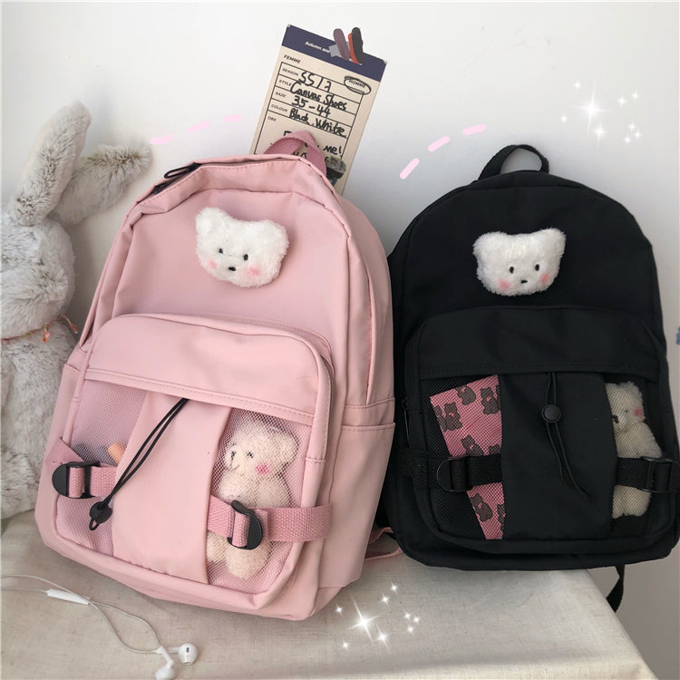 Cute  bear backpack   PL50254