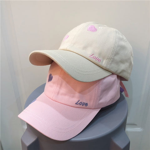Love embroidery hat PL50723