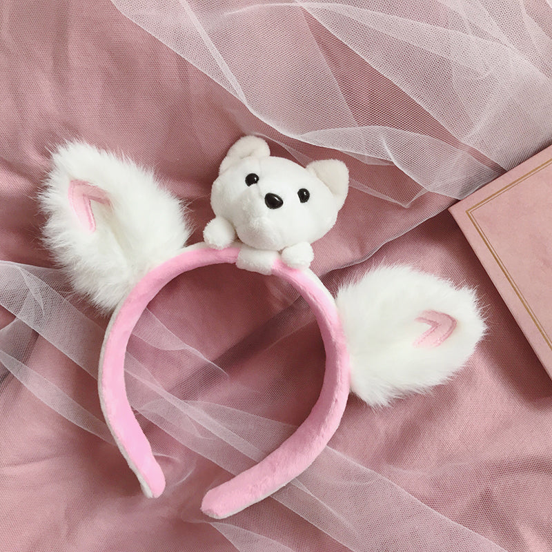 Polar bear headband PL50460