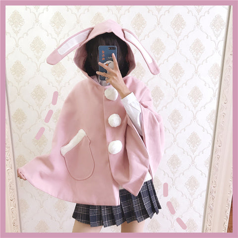Rabbit ear jacket PL50080