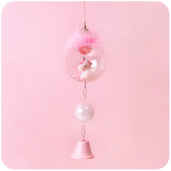 Unicorn wind chimes PL21280