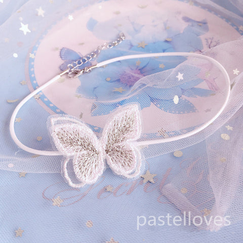 Butterfly lace collar PL50639