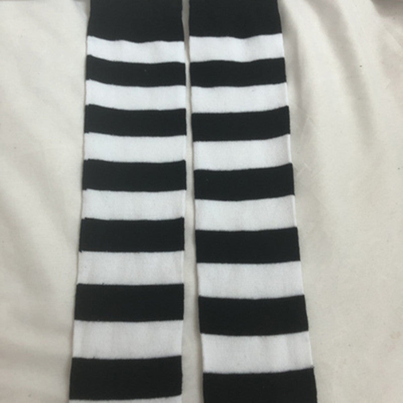 Striped stockings PL20987