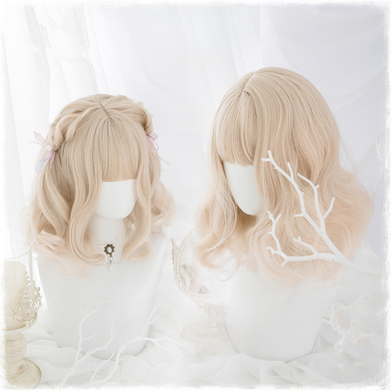 Lolita milk golden wig PL20269